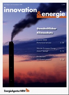 Vorschaubild 1: innovation & energie 1/2008